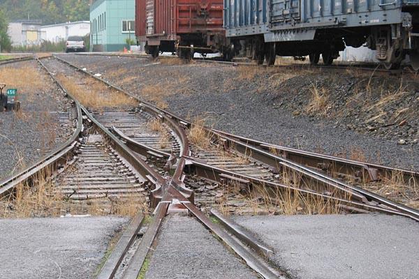 Model railroad turnout control panel